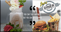 You can´t by happiness but you can buy a burger
